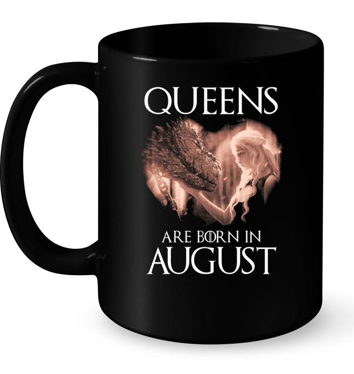 Queens Are Born In August Travel Mug